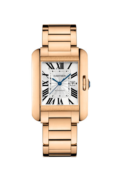 Cartier - Tank Anglaise Watch, Large Model