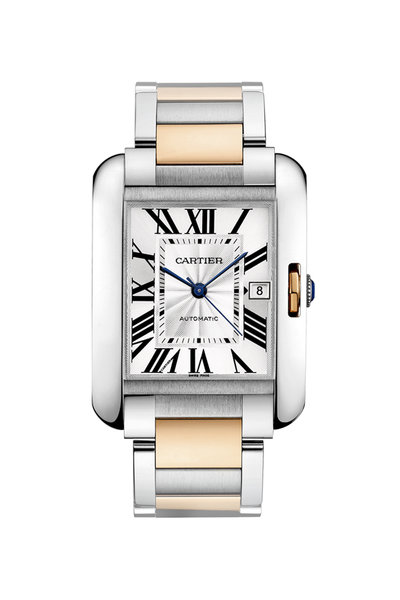 Cartier - Tank Anglaise Watch, Extra-Large Model