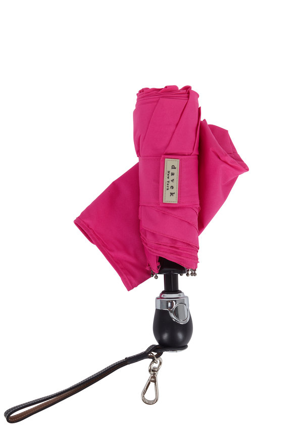 Davek  Hot Pink Traveler Umbrella