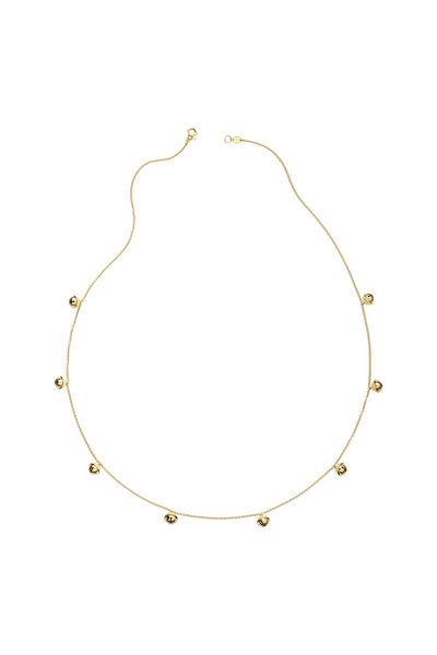 Paul Morelli - Meditation Bells Yellow Gold Small Necklace