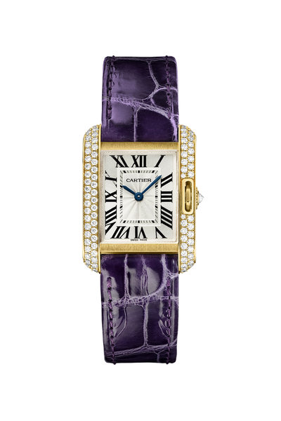 Cartier - Tank Anglaise Watch, Small Model