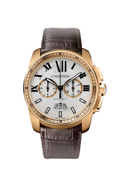 Cartier - Calibre de Cartier Chronograph Watch, 42mm