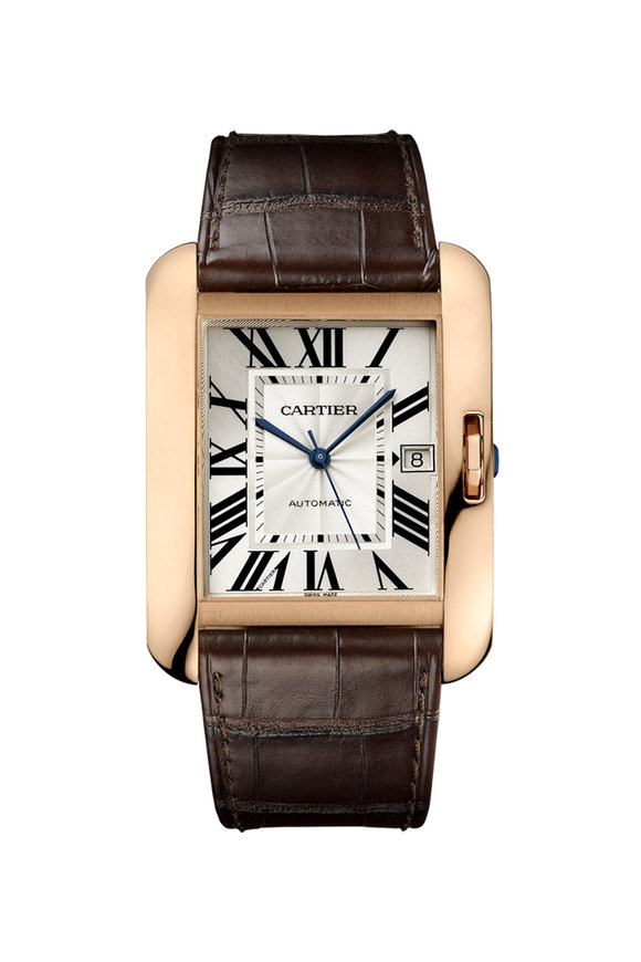 Cartier Tank Anglaise Watch, Extra-Large Model