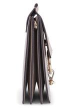 Chloé - Faye Gray Leather & Suede Medium Shoulder Bag