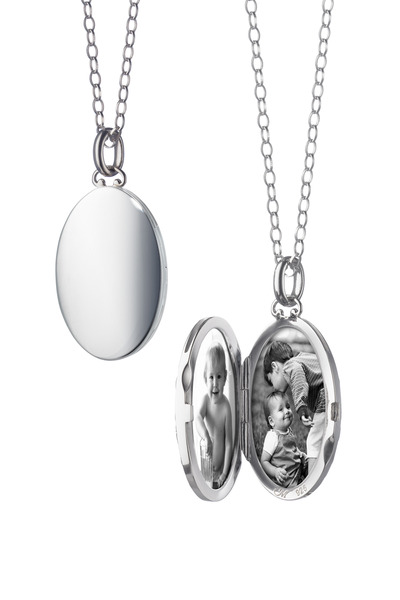 Monica Rich Kosann - Sterling Silver Domed Locket
