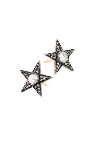 Sylva & Cie - Diamond Star Earring