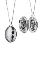 Monica Rich Kosann - Sterling Silver Mars Locket Necklace