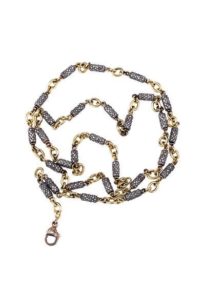 Sylva & Cie - Diamond Bullet Necklace