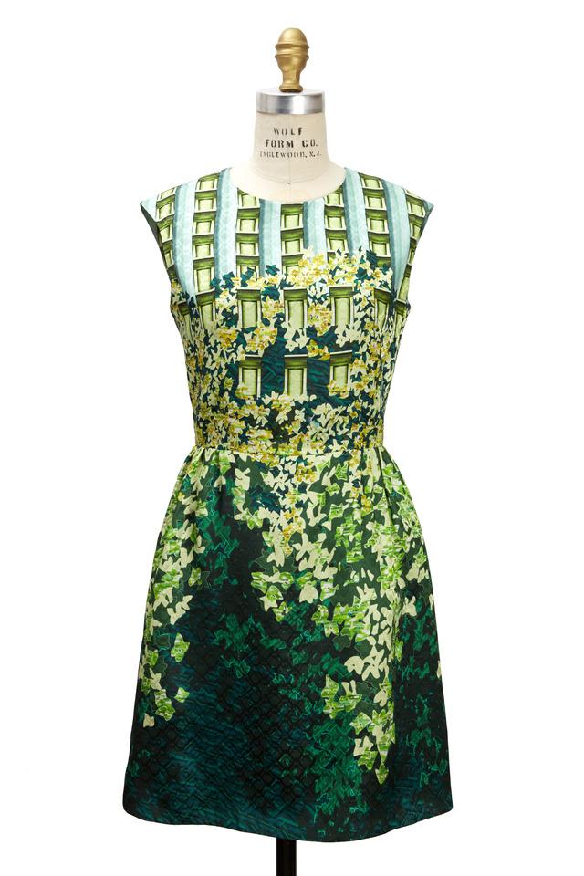 Gia Green Dress