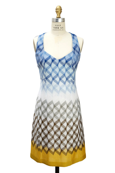 Missoni - Blue Fishnet Dress