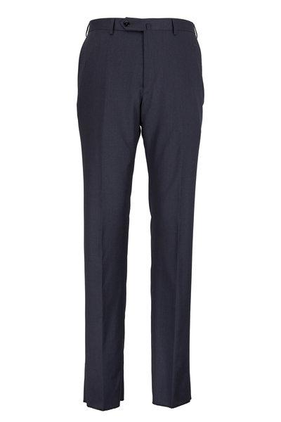 Ermenegildo Zegna - Charcoal Gray Wool Regular Fit Trousers