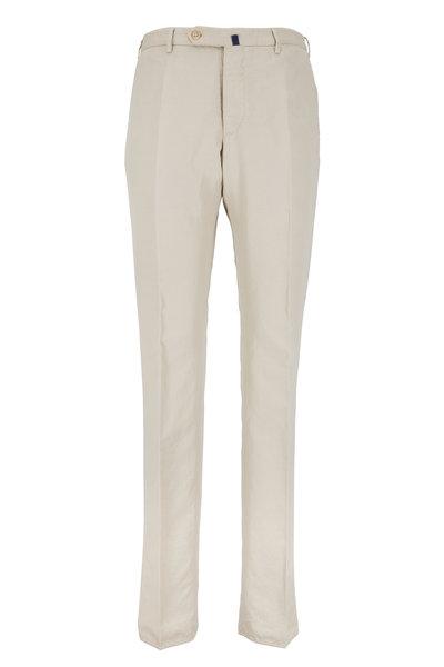 Incotex - Benson Stone Cotton Blend Chinolino Pant
