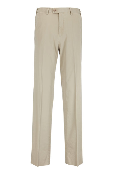 Hiltl - Dayne Tan Stretch Cotton Pant