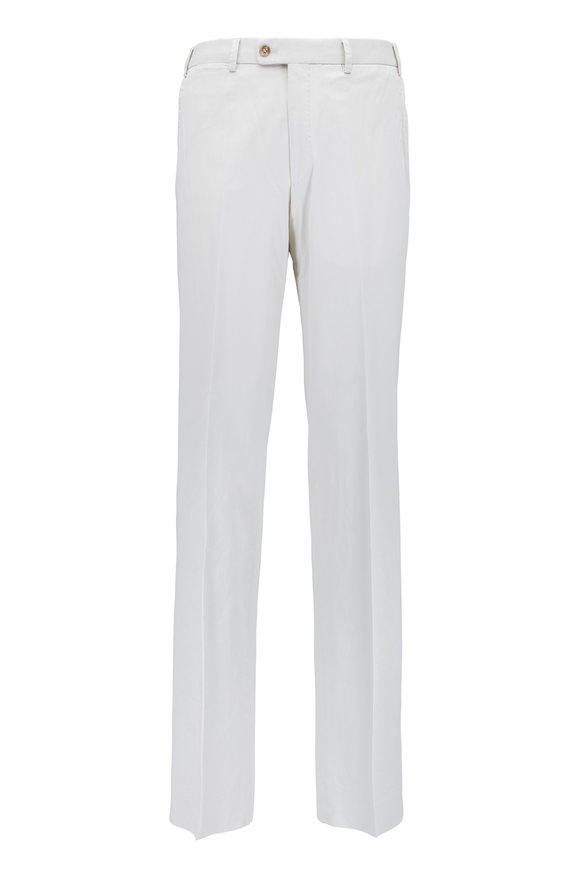 Hiltl Dayne Stone Stretch Cotton Pant