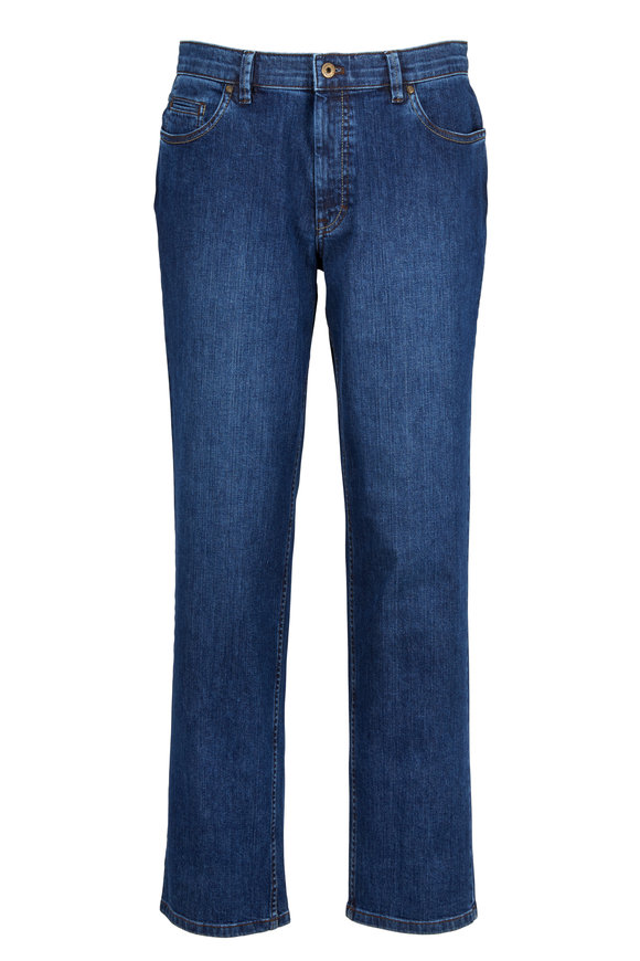 Hiltl Dude Medium Blue Classic Fit Jean