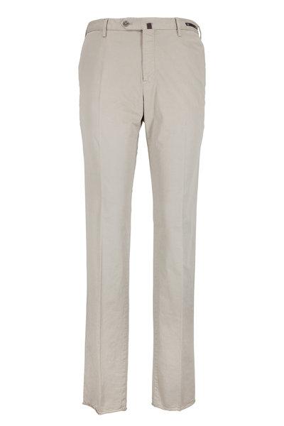 PT Pantaloni Torino - Vintage Khaki Stretch Cotton Slim Fit Pant
