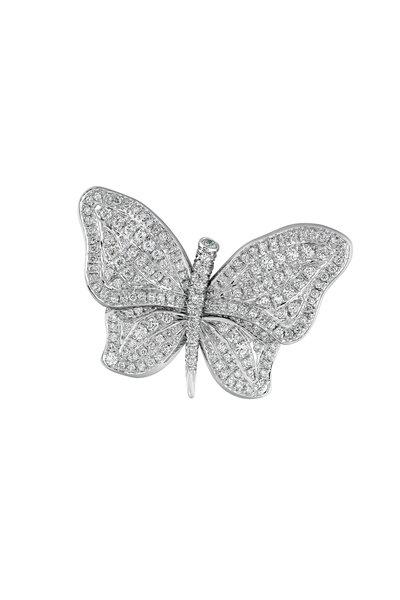 Aaron Henry - Diamond Butterfly Pin