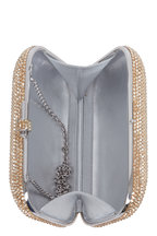 Judith Leiber Couture - Champagne Crystal Slide-Lock Minaudière