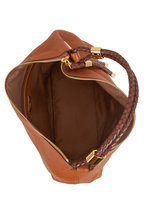 Michael Kors Collection - Skorpios Luggage Textured Leather Hobo Bag
