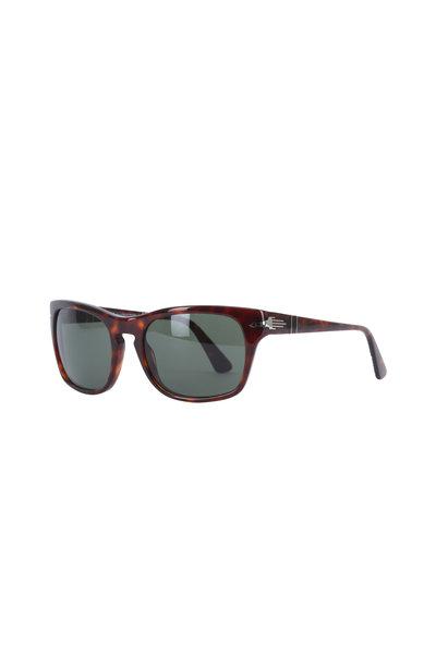 Persol - Havana Square Sunglasses