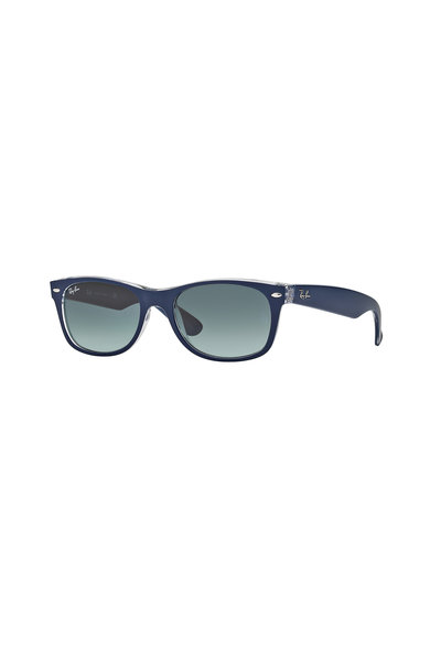 Ray Ban - Wayfarer Matte Blue Square Sunglasses