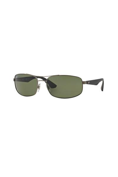 Ray Ban - Active Matte Gunmetal Polarized Sunglasses