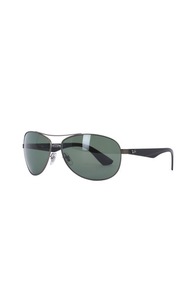 Ray Ban - Active Green Metal Aviator Sunglasses