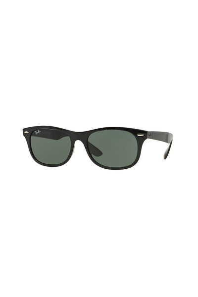Ray Ban - Tech Black Wayfarer Sunglasses