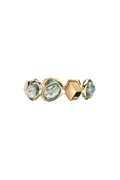Paolo Costagli - Yellow Gold Ombre Green Sapphire Ring