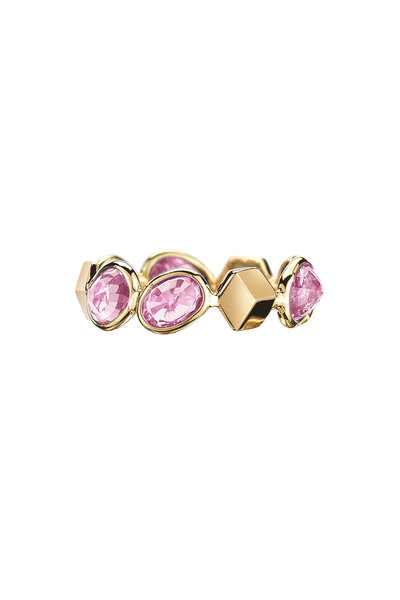 Paolo Costagli - Yellow Gold Ombre Pink Sapphire Ring