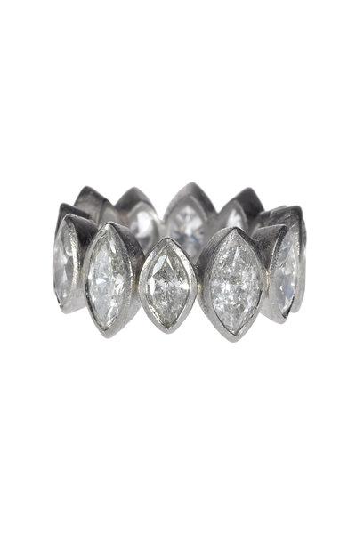 Todd Reed - Palladium White Diamond Ring
