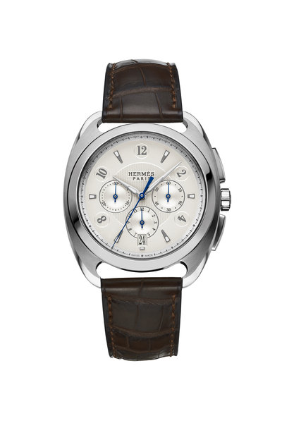 Hermès - Dressage GM Steel Watch, Large Model