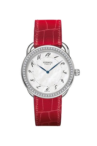 Hermès - Arceau GM Steel Watch, Large Model