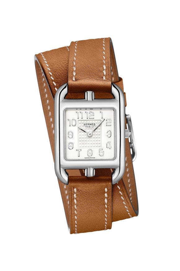 Hermès Cape Cod PM Steel Watch, Small Model