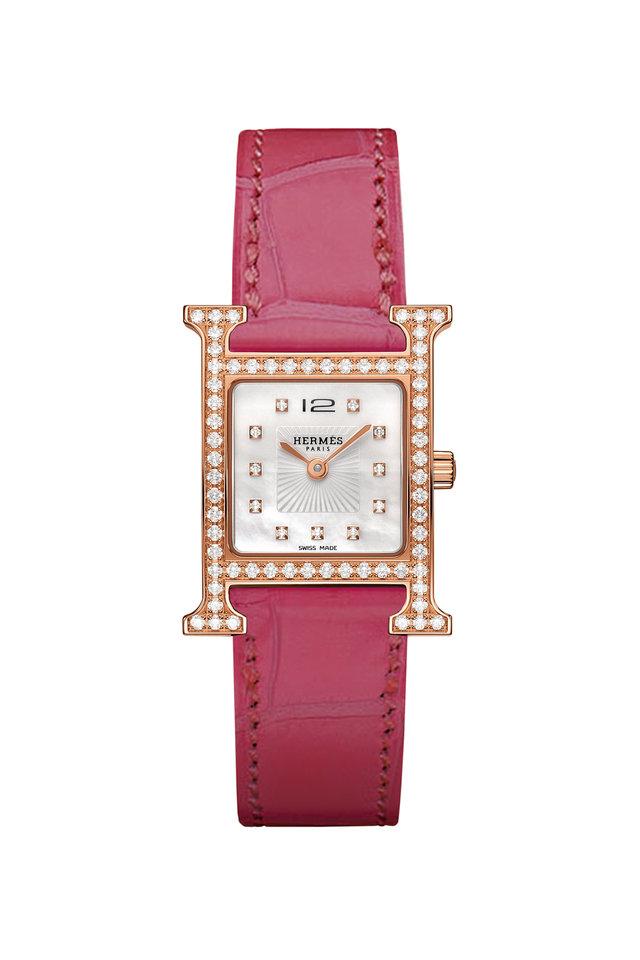 Heure H Steel Diamond Watch