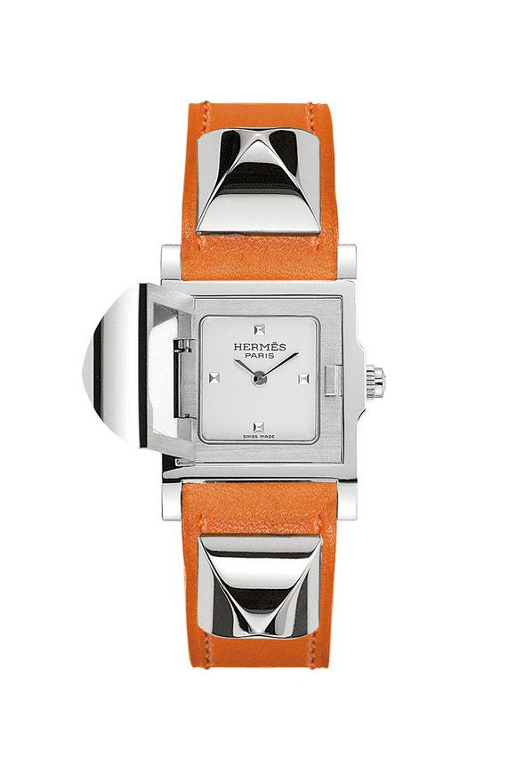 Hermès Médor PM Steel Watch, Small Model
