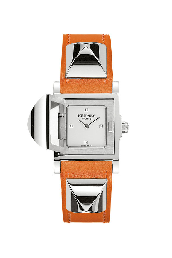 Hermès Médor PM Steel Watch, Small Model