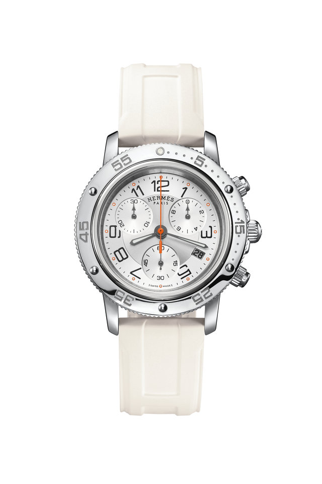 White Dial Clipper Chrono Diver Watch