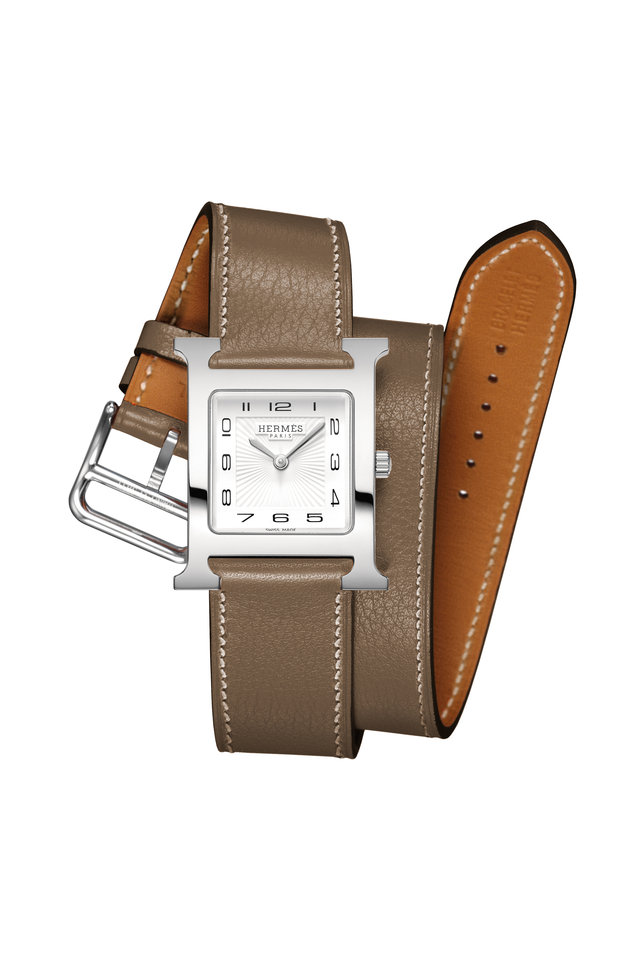 Taupe H Watch
