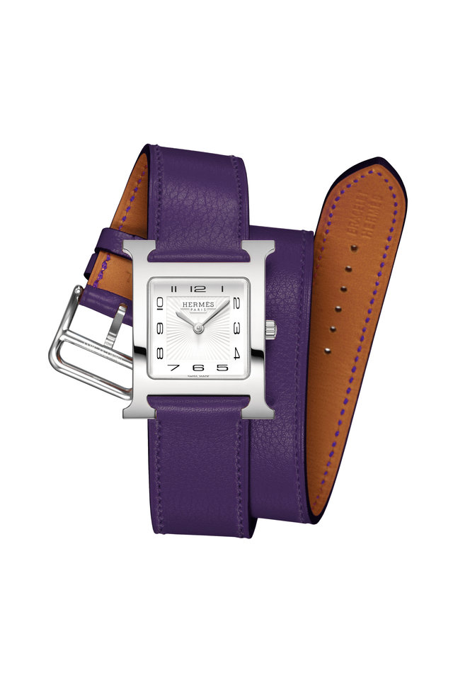 Purple Band Watch