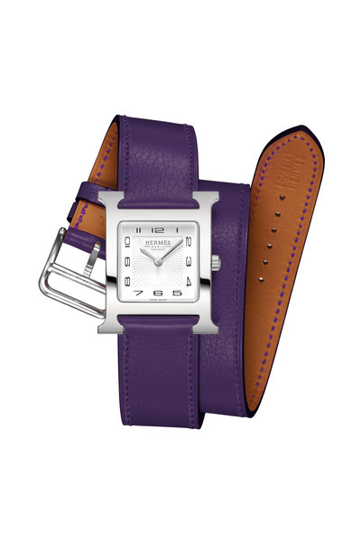 Hermès - Purple Band Watch