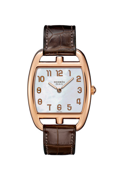 Hermès - Brown Leather Watch