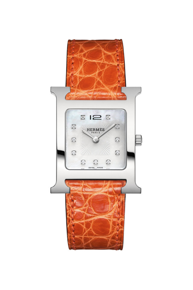 Orange H Watch