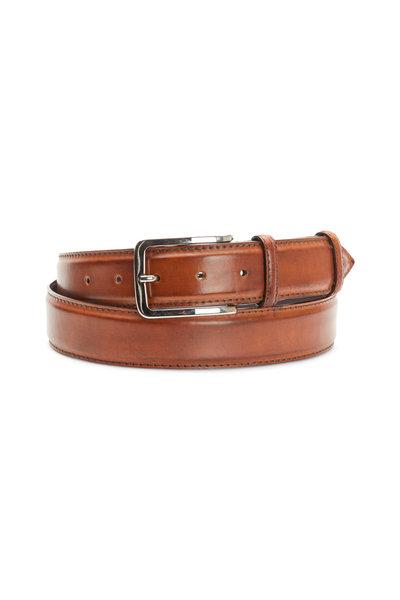 Bontoni - Whiskey Leather Belt