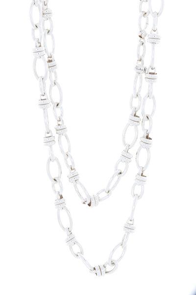 Pomellato - Sterling Silver Chain Link Necklace