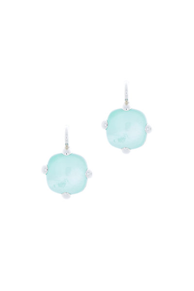 Pomellato - Sterling Silver Blue Quartz Drop Earrings
