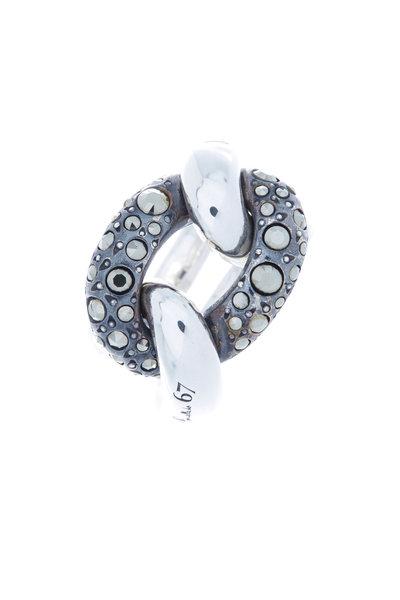 Pomellato - Sterling Silver Gourmette Ring