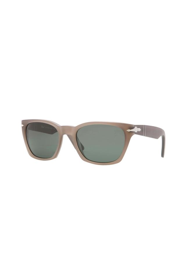 PO3058S Square Brown Sunglasses