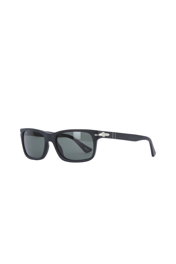 Persol Classic Black Wayfarer Sunglasses