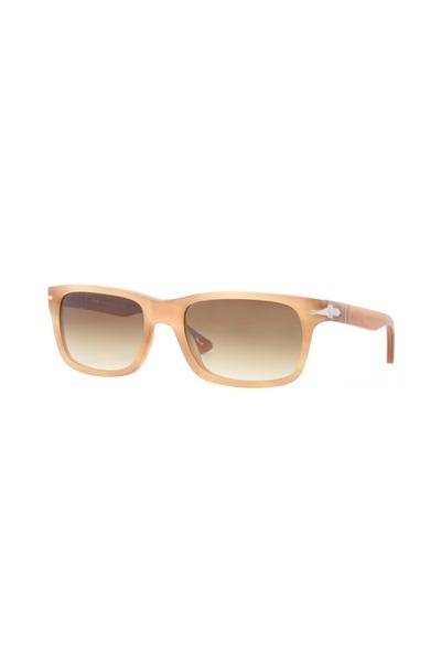 Persol - Classic Rectangle Honey Sunglasses